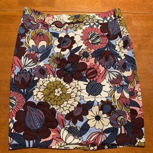 Floral Skirt. Ann Taylor